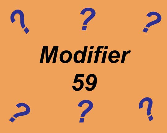Proper Use of Modifier 59 Graphic