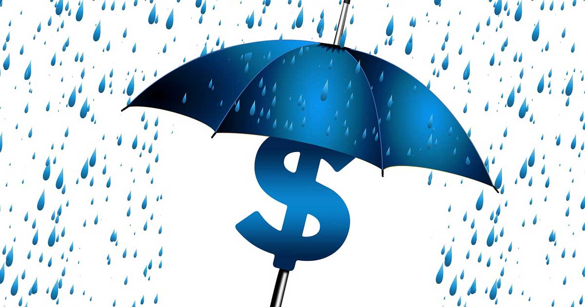 Umbrella Rain Graphic